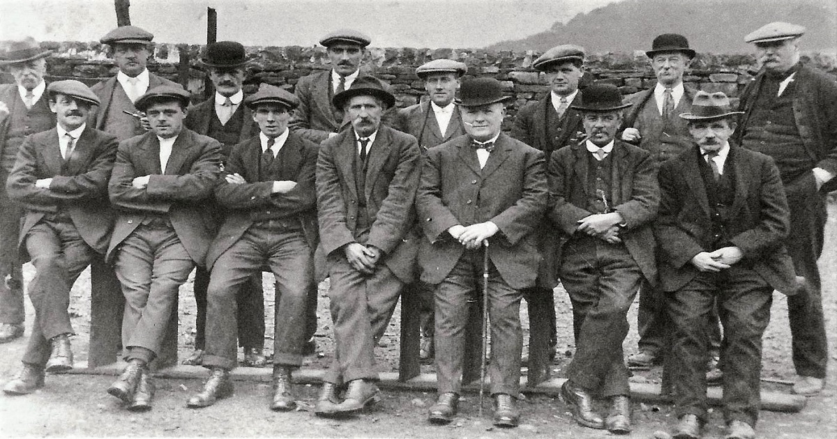 A Group of Men Undated