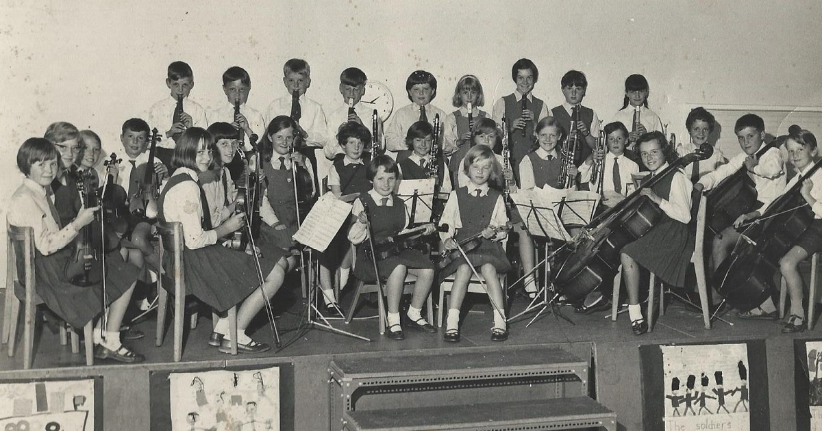 St. Peter's School orchestra undated