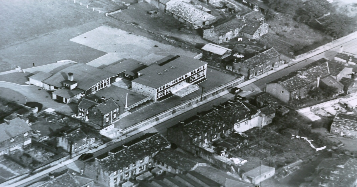 St. Peter's aerial view 1955