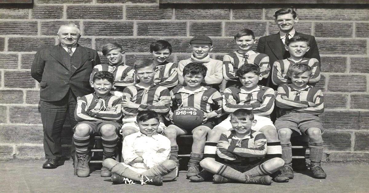 National School Football Team 1948/49