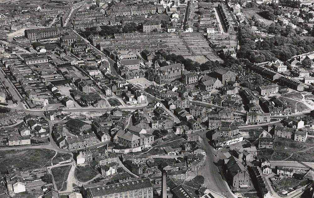 Aerial Views 1954