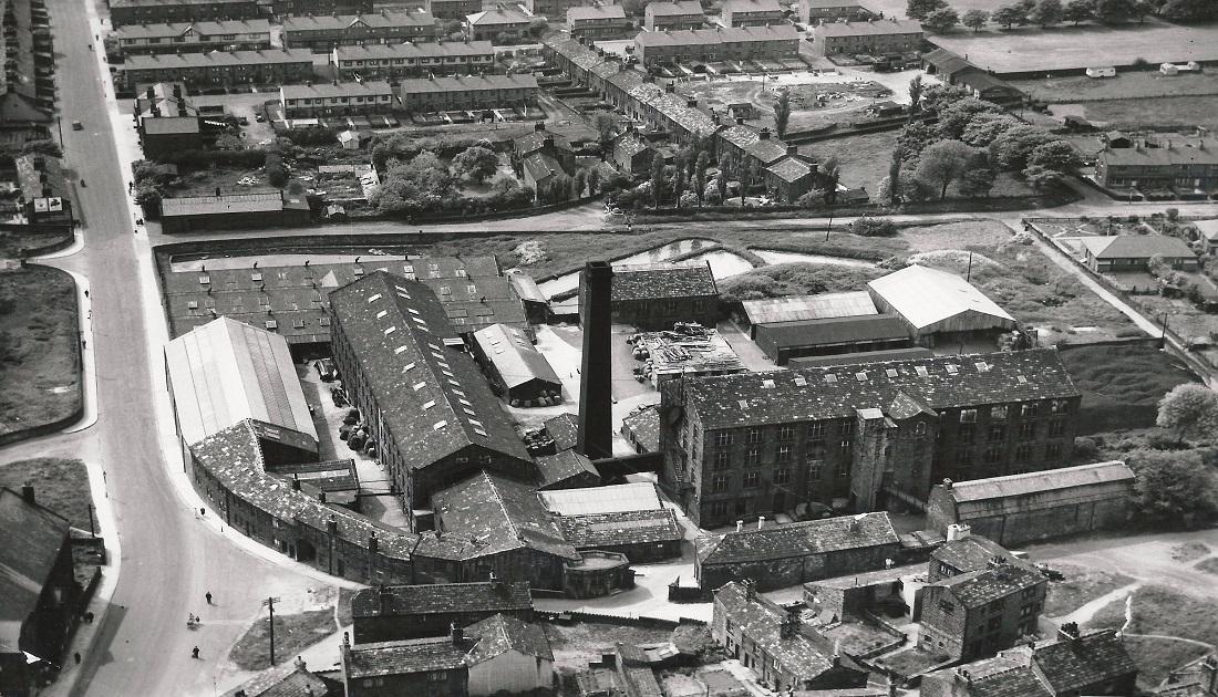 Aerial Views Manor Mill Undated